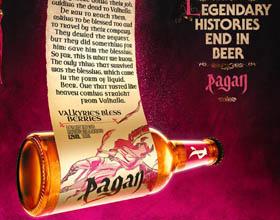 Pagan啤酒平面广告设计