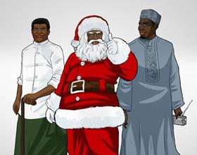 尼日利亚REDWOI.F父亲节平面广告设计