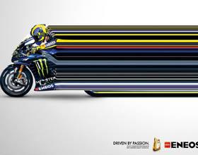 意大利Eneos润滑油平面广告设计