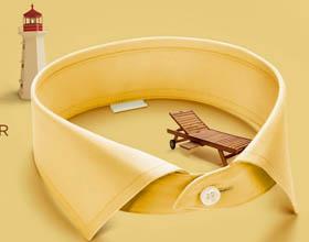 印度Success 衬衫平面广告设计
