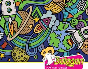 以色列Balagan儿童游乐场平面广告设计