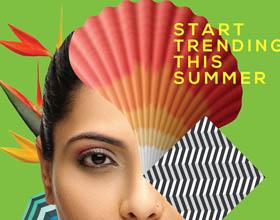 Bon Ton女装品牌夏季活动平面广告设计