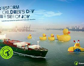 巴西Transit BR物流庆祝儿童节平面广告