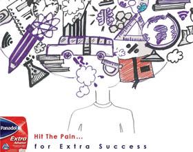 埃及Panadol止痛药平面广告设计