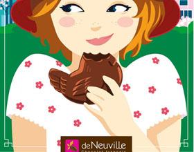 法国De Neuville食品平面广告设计