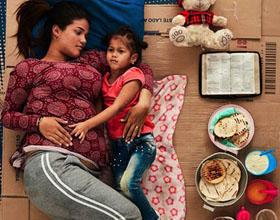 联合国难民组织平面广告设计