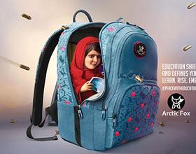 印度Arctic Fox教育平面广告设计