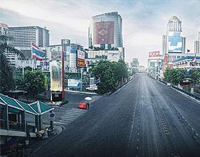智利长安汽车平面广告设计:别上路!