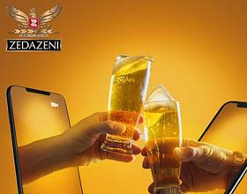 佐治亚州Zedazeni啤酒平面广告设计:呆在家里