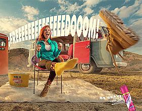 Mexsana平面广告设计:在任何地方都可以随意脱鞋