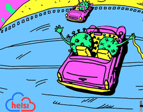 乌克兰Helsi健康服务平面广告设计