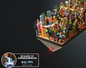 智利Ozom 安全系统平面广告设计