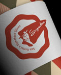 San Gretti´s Signature Slices品牌VI设计