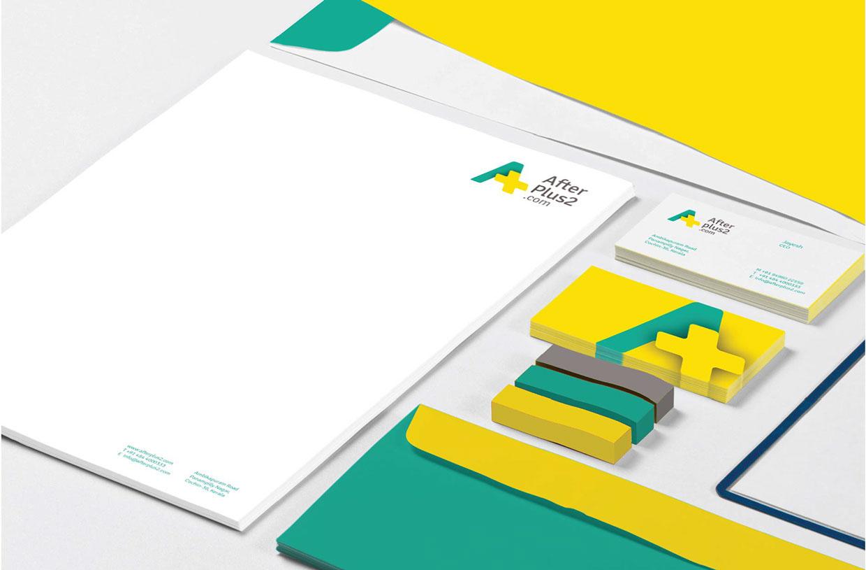 中国设计在线网站_AfterPlus2在线教育门户网站VI设计-中国设计在线