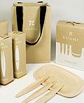 YUSHI一次性餐具品牌VI设计