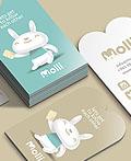 Molli时尚童装店VI设计