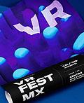 墨西哥VR Fest虚拟现实体验节视觉形象设计