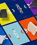 法国Echo智能手机品牌VI设计
