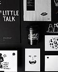 Little Talk咖啡馆品牌VI设计