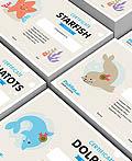 Paddles Swim游泳学校品牌视觉形象设计