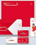 韩国11STREET电子商务网站品牌 VI设计