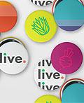 加拿大live品牌视觉形象设计