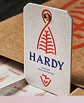 烟熏鲑鱼Hardy品牌视觉设计