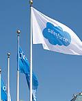 Salesforce软件服务(SaaS)云计算品牌视觉设计