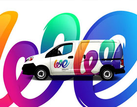 埃及WE电信运营商品牌视觉设计