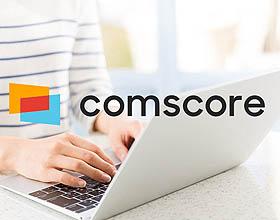 美国Comscore互联网信息服务提供商品牌视觉形象设计