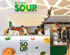 快餐连锁店EASY SOUP品牌VI设计