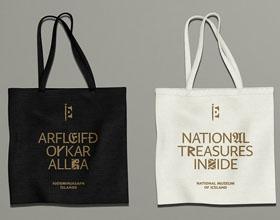 冰岛国家博物馆全新品牌视觉形象设计