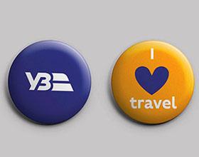 乌克兰国家铁路全新品牌VI设计