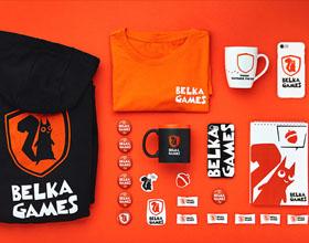 BELKA GAMES移动设备品牌视觉形象设计