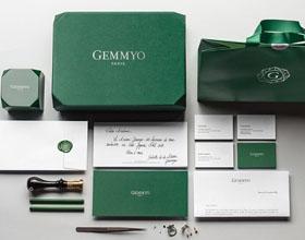 法国Gemmyo珠宝品牌VI设计