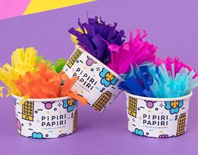 墨西哥Pipiri Papiri冰淇淋品牌VI设计
