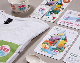 50种极富创意的冰淇淋品牌包装和视觉形象设计