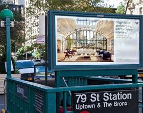 曼哈顿555 West End Avenue住宅项目品牌VI设计