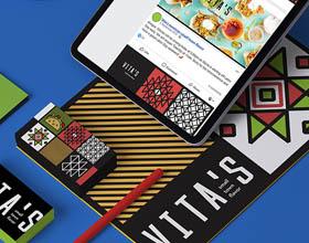 Vita's餐厅品牌VI设计
