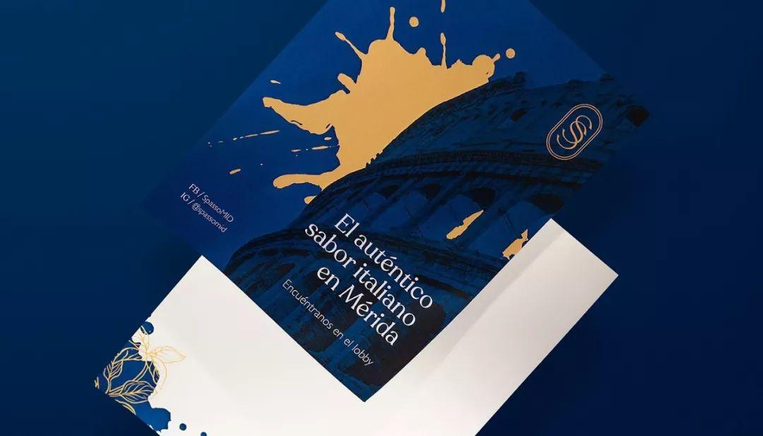 意大利Spasso餐厅品牌视觉形象设计