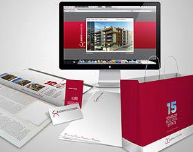黎巴嫩JOSEPH CHALHOUB房地产品牌视觉形象设计
