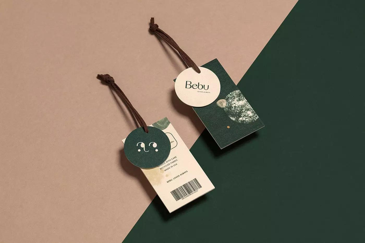 Bebu儿童服装品牌<a href=http://www.ccdol.com/sheji/pinpai/ target=_blank class=infotextkey>VI设计</a>