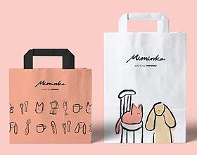 咖啡馆MIMINKO品牌视觉设计