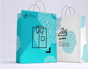 干洗店Diana品牌视觉形象设计