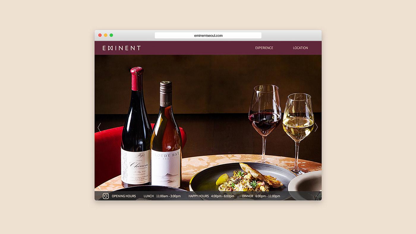 Eminent餐厅精致的品牌视觉<a href=http://www.ccdol.com/ target=_blank class=infotextkey>设计</a>