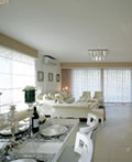 白色新古典主义室内装修设计