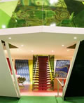 色彩绚丽设计精巧的移动房屋空间设计