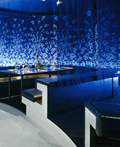 美轮美奂的孔雀餐馆室内设计