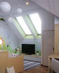 15款漂亮的室内阁楼空间设计