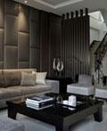 时尚典雅的现代风格软包室内设计欣赏